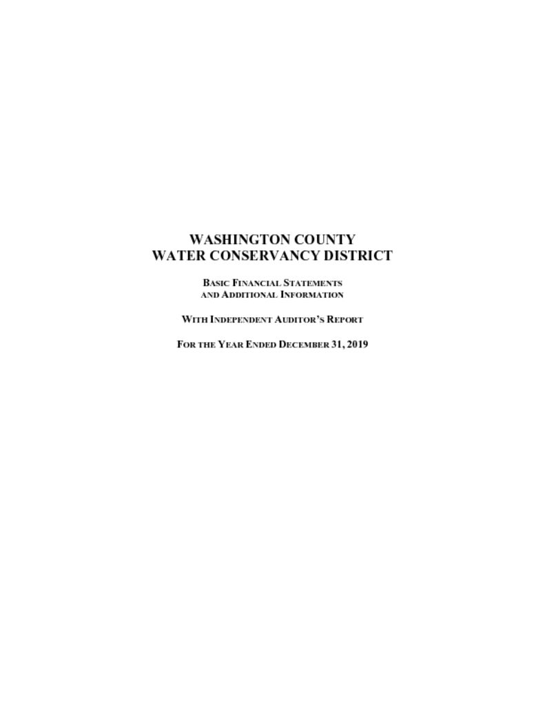 thumbnail of 2019 Audited Financial Statements